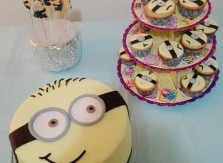 Una minions cake per il mio minion…