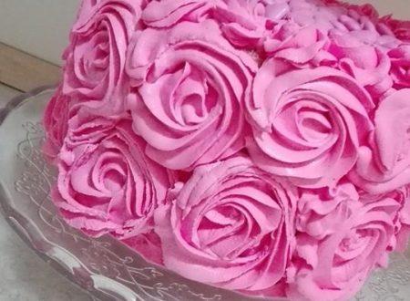 """Sua maestà """"Pink rose cake"""""""